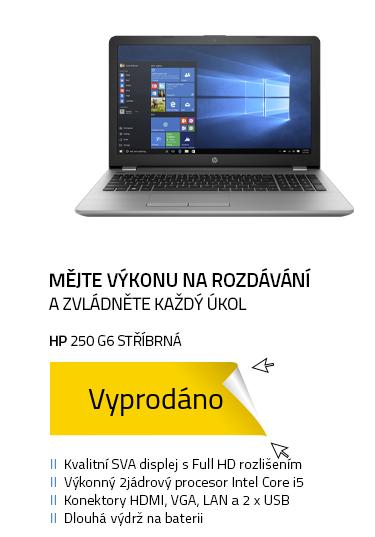 Notebook HP 250 G6 Stříbrná