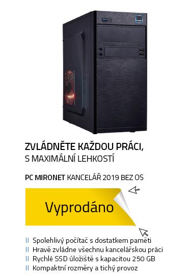 PC MIRONET Kancelář 2019 bez OS