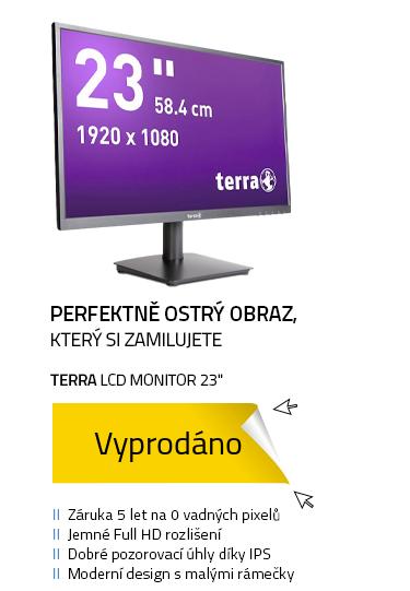 "LCD Monitor 23"" TERRA LED 2311W GREENLINE PLUS černá"