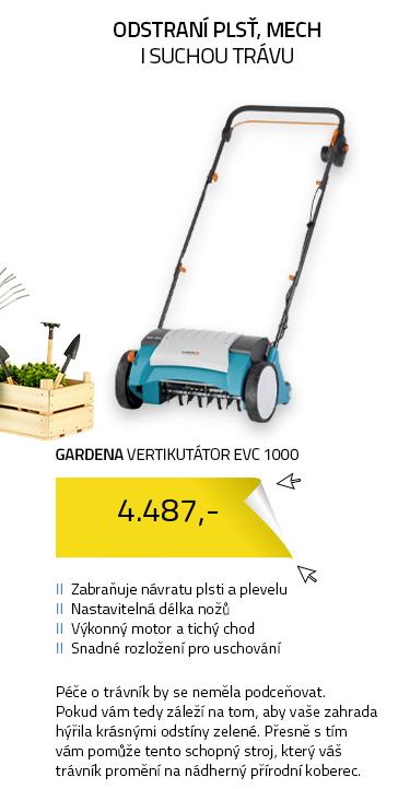 Gardena 04068-20 Elektrický vertikutátor