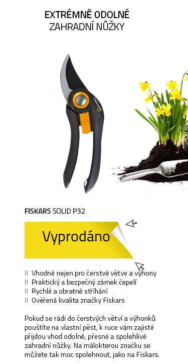 Fiskars Solid P32 záhradní nůžky