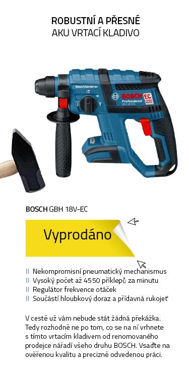 BOSCH GBH 18V-EC