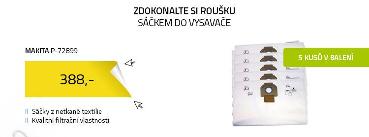 Makita P-72899 Sáčky do vysavače