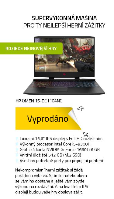 Notebook HP Omen 15-dc1104nc