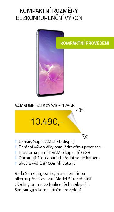 Mobilní telefon - SAMSUNG Galaxy S10e 128GB černá