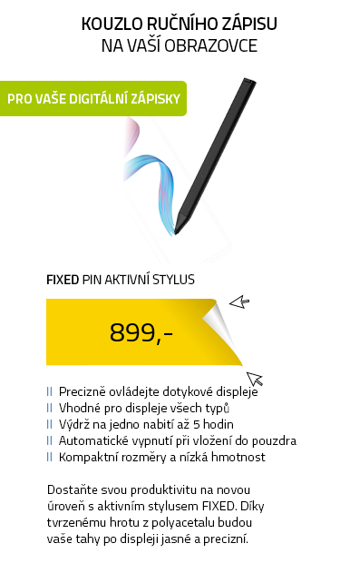 Fixed Pin aktivní stylus