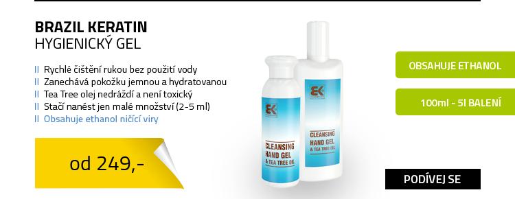 Brazil Keratin hygienický gel