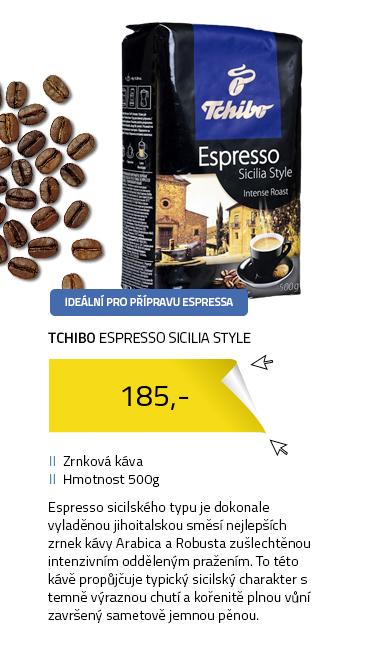 Tchibo Espresso Sicilia Style 500g