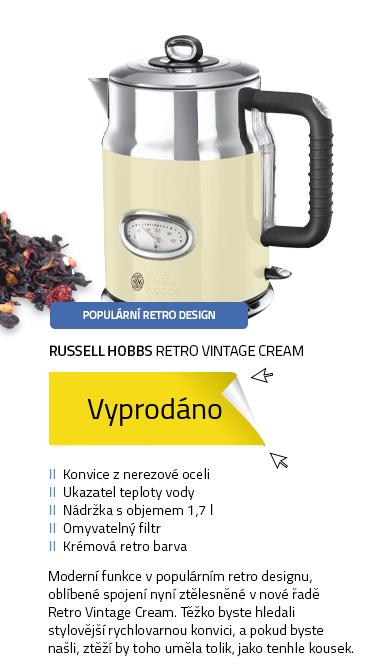 Russell Hobbs Retro Vintage Cream 21672-70