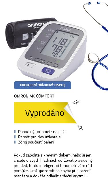 OMRON M6 Comfort + manžeta INTELLI + zdroj