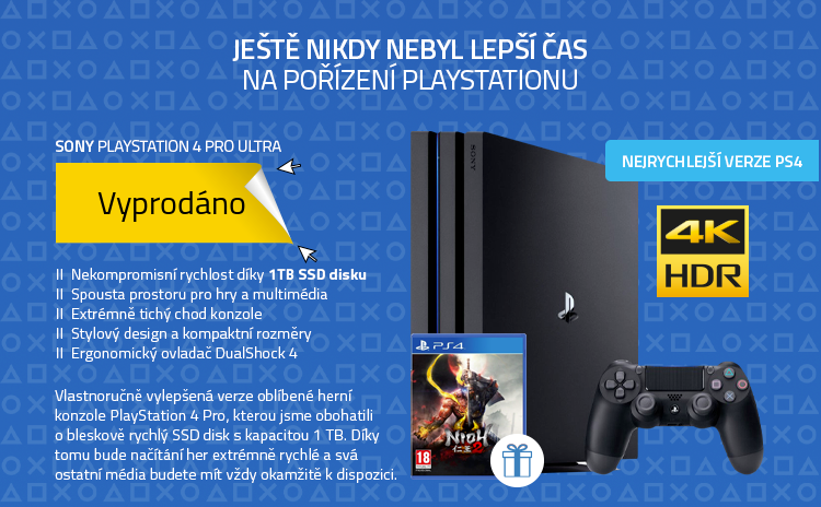 SONY PlayStation 4 Pro ULTRA - SSD 1TB (960GB) CUH-7216B Gamma series