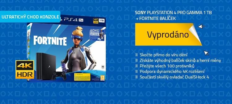 SONY PlayStation 4 Pro Gamma - 1TB + Fortnite