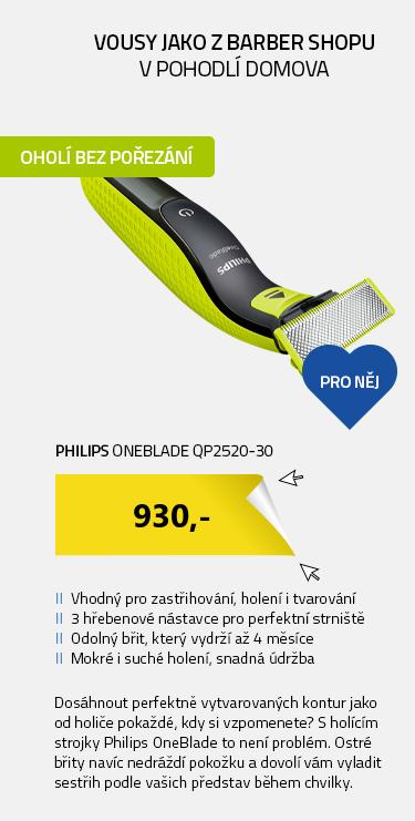 Philips OneBlade QP2520-30