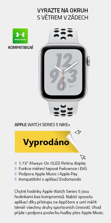 Chytré hodinky Apple Watch Series 5 Nike+