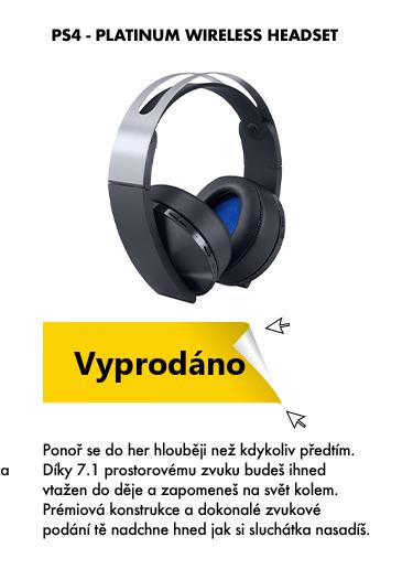PS4 Platinum wireless headset