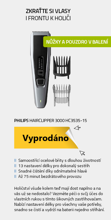 Philips Hairclipper 3000 HC3535-15