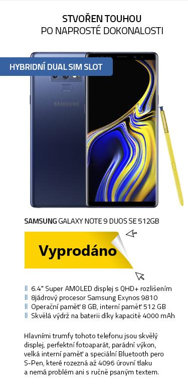 SAMSUNG Galaxy Note 9 Duos SE 512GB