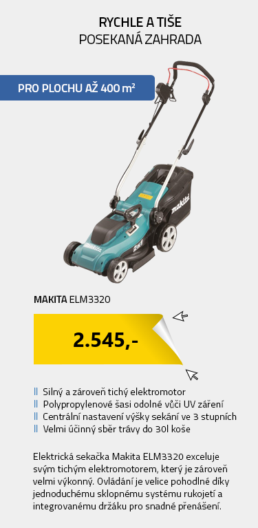 Makita ELM3320