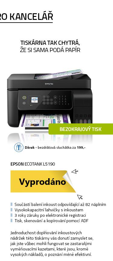 EPSON EcoTank L5190 černá