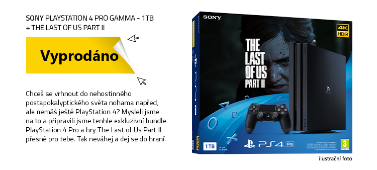 SONY PlayStation 4 Pro Gamma - 1TB + The Last of Us Part II