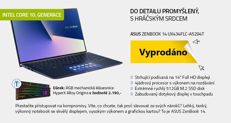 Notebook ASUS Zenbook 14 UX434FLC-A5294T modrá