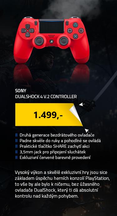 Dualshock 4 V.2 Controller Black (SONY PlayStation 4)