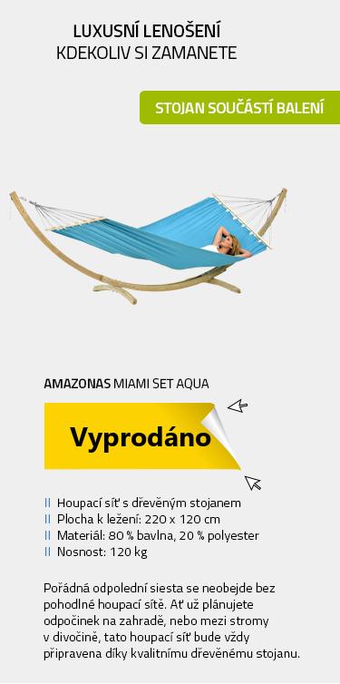 Amazonas Miami set aqua