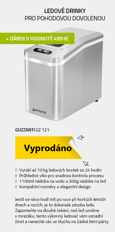 Guzzanti GZ 121 stříbrná