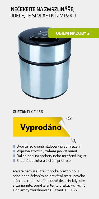Guzzanti GZ 156 stříbrná-černá