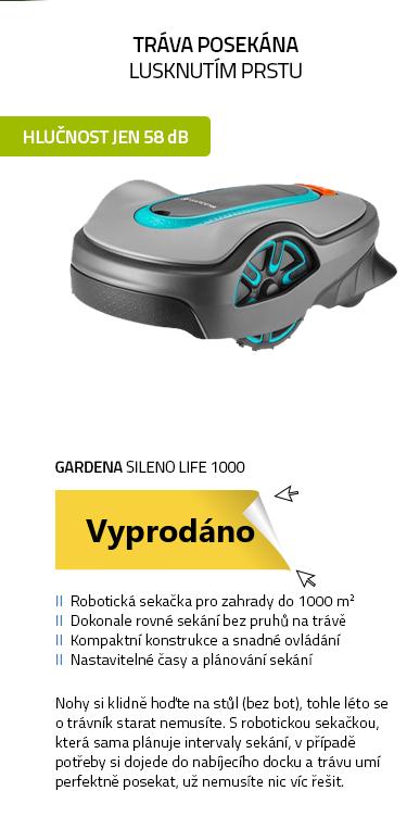 Gardena Sileno life 1000