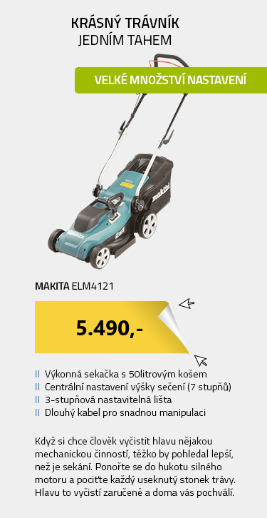 Makita ELM4121