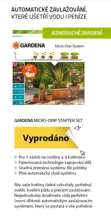 Gardena Micro-Drip Starter Set Flower Pots M Automatic - set pro zavlažování