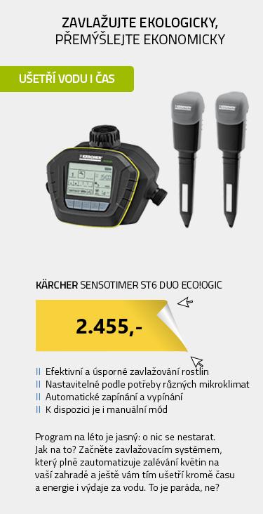 Kärcher SensoTimer ST6 eco!ogic 2.645-213.0 Zavlažovací automat