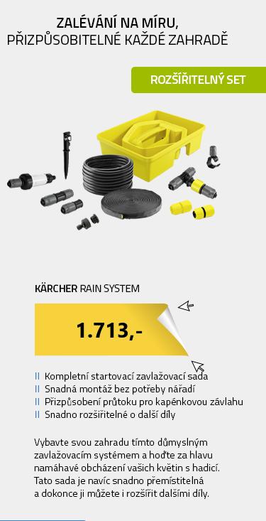 Kärcher Rain System 2.645-238.0 Sada Rain Box (33 ks)