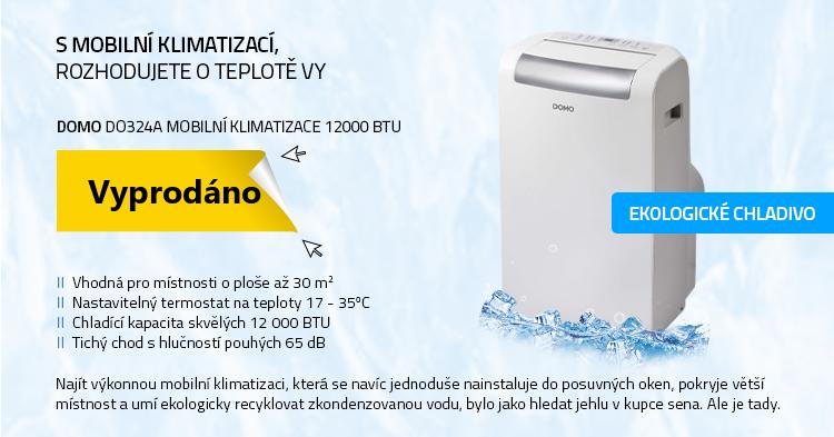 DOMO DO324A Mobilní klimatizace 12000 BTU