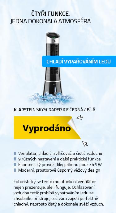 Klarstein Skyscraper Ice černá / bílá