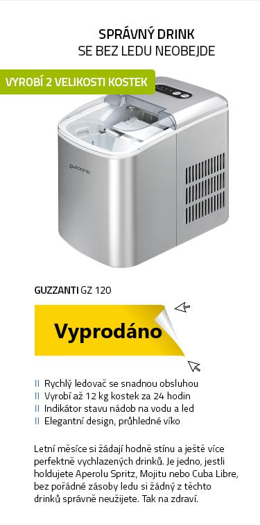 Guzzanti GZ 120 stříbrná