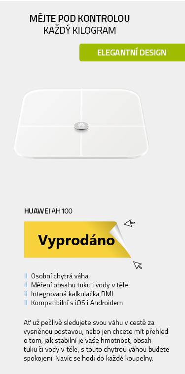 HUAWEI AH100 osobní chytrá váha bílá