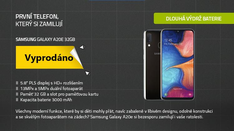Mobilní telefon - SAMSUNG Galaxy A20e 32GB černá