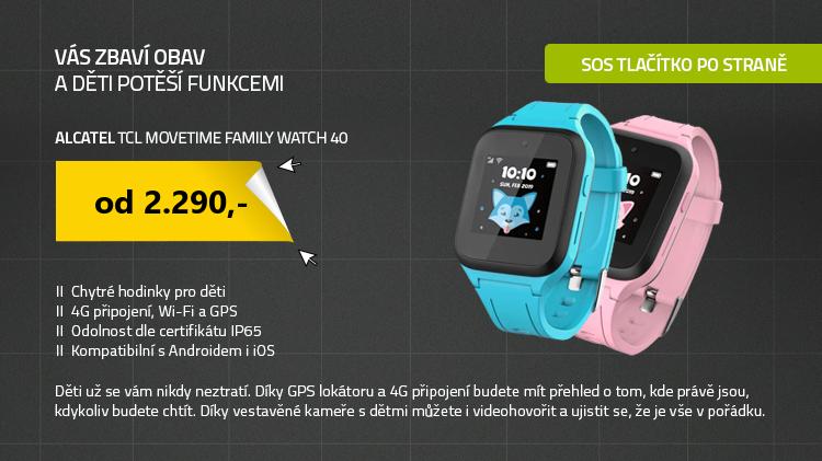 Chytré hodinky TCL MOVETIME Family Watch 40