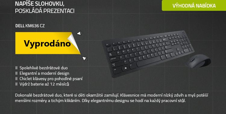 DELL KM636 CZ černá