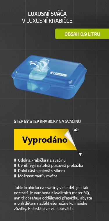 Step by Step - Krabička na svačinu