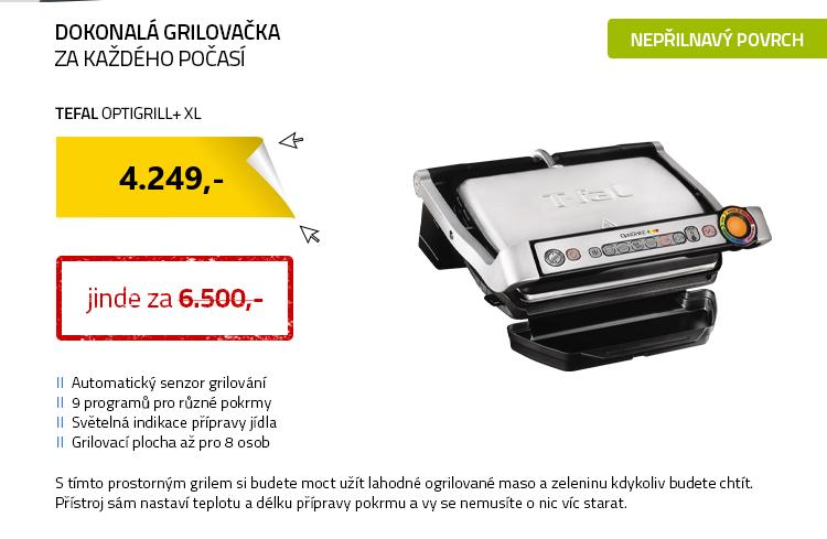 Tefal Optigrill+ XL GC722D