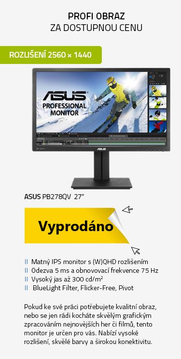 """LCD Monitor 27"""" ASUS PB278QV černá"""