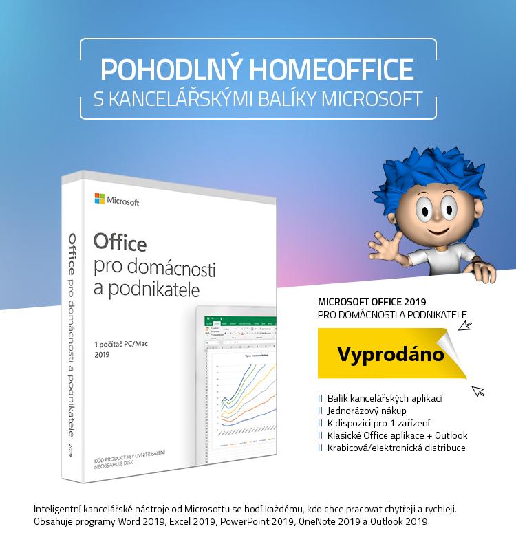 Microsoft Office 2019 pro domácnosti a podnikatele CZ