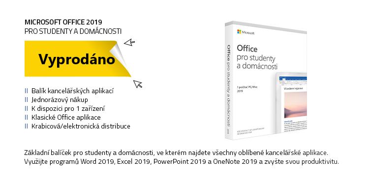 Microsoft Office 2019 pro domácnosti a studenty CZ