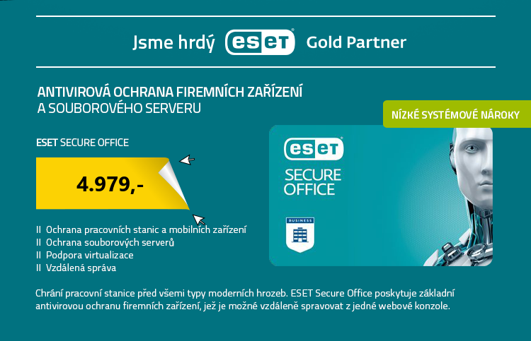 ESET Secure Office , 5 stanic , 1 rok