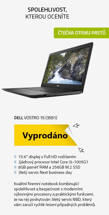 Notebook DELL Vostro 15 (3591)