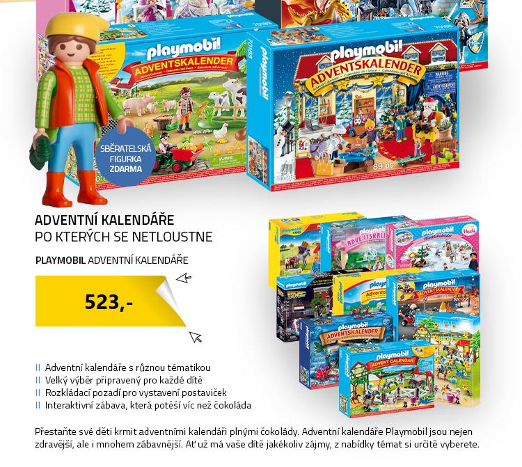 Adventní kalendáře Playmobil