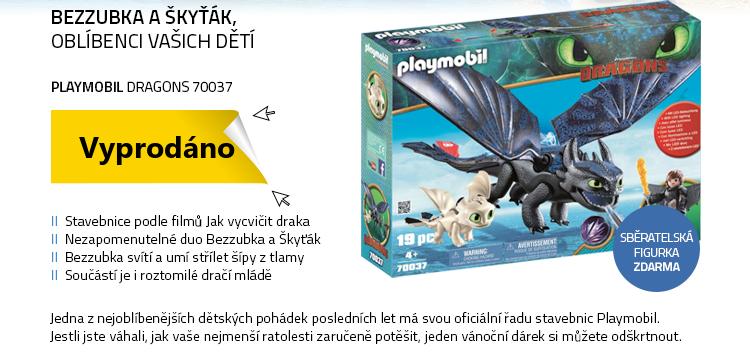 Playmobil Dragons 70037 Bezzubka a Škyťák s dráčetem